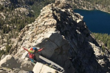 Crystal Crag Climbing