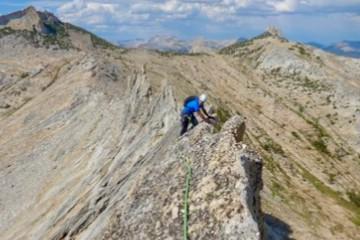 Matthes Crest Climbing